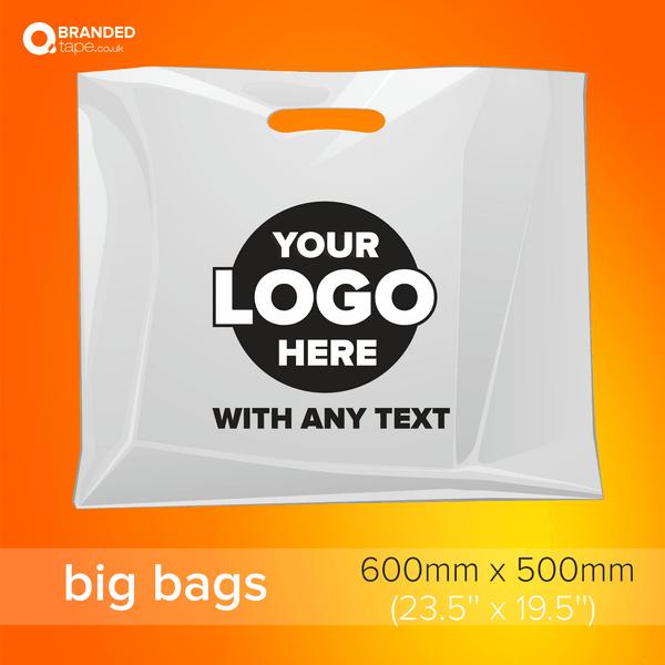 Big-600x500mm- Custom-Printed-Bags-with-Company-Logo-branded-tape-co-uk