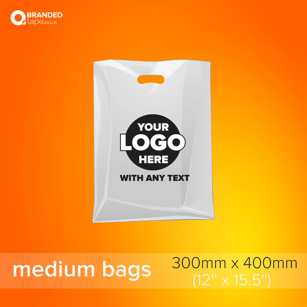 Medium-300x400mm-Custom-Printed-Bags-with-Company-Logo-branded-tape-co-uk