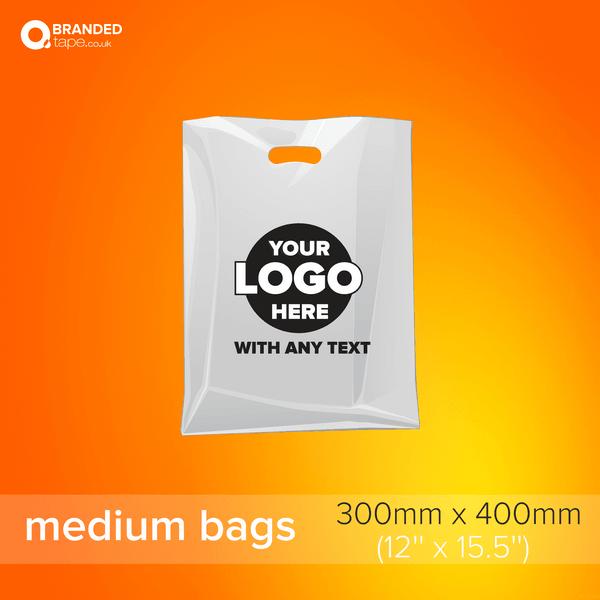 Medium-300x400mm-Custom-Printed-Bags-with-Company-Logo-branded-tape-co-uk